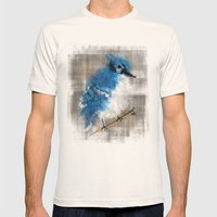 A Blue Jay Today Mens Fitted Tee Natural SMALL