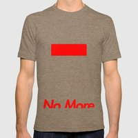 Supreme No More Mens Fitted Tee Tri-Coffee SMALL