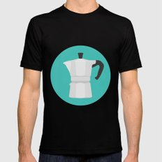 #67 Bialetti SMALL Mens Fitted Tee Black