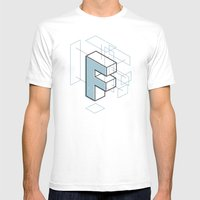 The Exploded Alphabet / F Mens Fitted Tee White SMALL