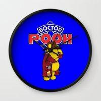 Doctor Pooh Wall Clock
