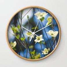 Dogwood Wall Clock