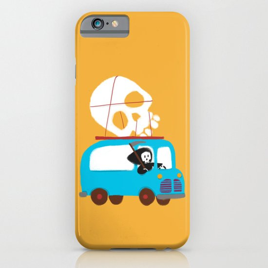 Death on wheels iPhone & iPod Case