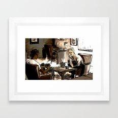 communicative Framed Art Print