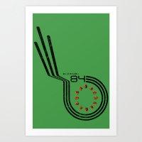 Roadfighter Art Print