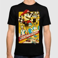 Lightning Cup Nights: Th… Mens Fitted Tee Black SMALL