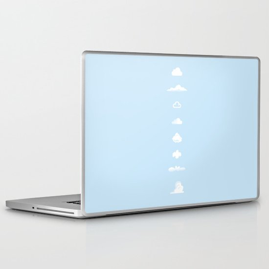 Famous Clouds Laptop & iPad Skin