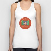 Day 20/25 Advent - Christmas Morning Unisex Tank Top