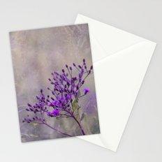 Purple Wildflowers Stationery Cards
