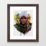 Witchers Creed Framed Art Print