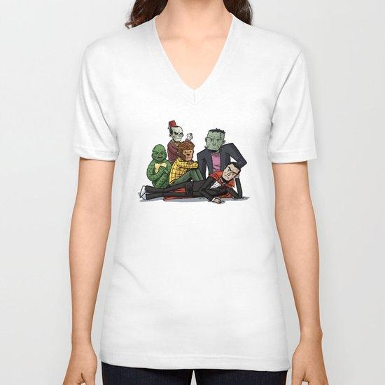 The Universal Monster Club V-neck T-shirt