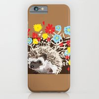 iPhone & iPod Case featuring hedgehog by Caracheng