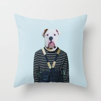 Mr. Sledgehammer Throw Pillow