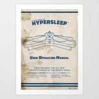 Hypersleep Chamber User … Art Print