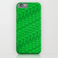 iPhone & iPod Case featuring Video Game Controllers - Green by C Rhodes Design