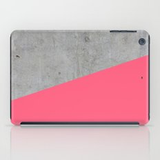 Concrete and pink iPad Case
