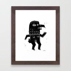 FRAU ADLER Framed Art Print