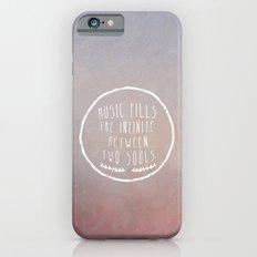 I. Music fills the infinite iPhone 6 Slim Case