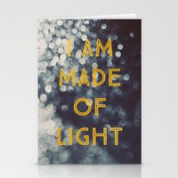 Made Of Light Stationery Cards