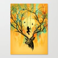 Playmate Canvas Print