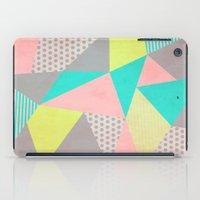 Geometric Pastel iPad Case