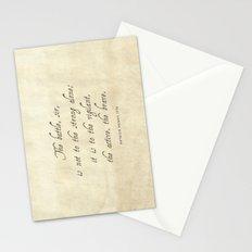 The Battle by Patrick Henry Stationery Cards