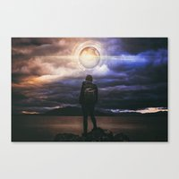 The Real Test Canvas Print