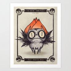 Ivysaur #002 Art Print