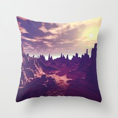 Arizona Canyon Sunshine Throw Pillow