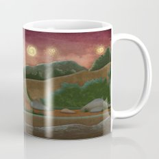 Night landscape Mug