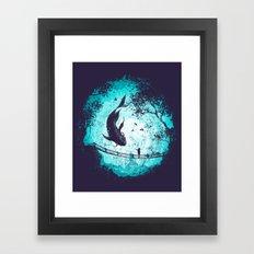 My Secret Friend Framed Art Print
