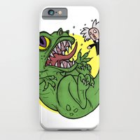 iPhone & iPod Case featuring The Dinosaur  by MattHercock