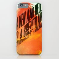 iPhone Cases featuring HEAVEN & HELL 2 by Brandon Neher
