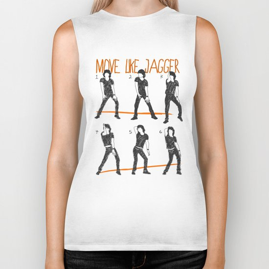 Move Like Jagger (MOVE LIKE COLLECTION) Biker Tank
