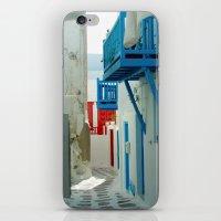Color Me Greek iPhone & iPod Skin
