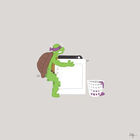 Donatello Does Machines Art Print