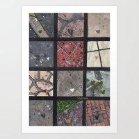 Love On The Ground Art Print