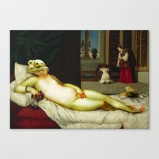 Frog of Urbino Canvas Print
