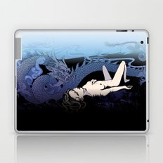 Dragon Under Moonlight Laptop & iPad Skin
