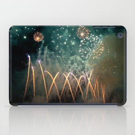 Fireworks Face iPad Case