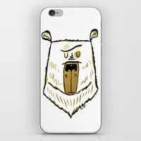 The Golden Bear iPhone & iPod Skin