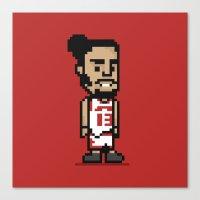 8-Bit: Joakim Noah Canvas Print