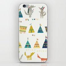 Wolf Pattern iPhone & iPod Skin