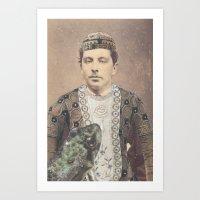 Salvaged Relatives (06) Art Print
