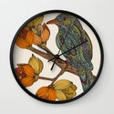 Bravebird Wall Clock