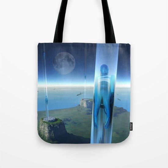 space elevator - babylon transfer station 02 Tote Bag