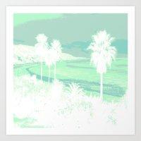 I Love Cali! Art Print