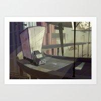 FREE -WAY Art Print