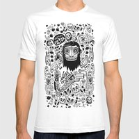 Idées Noires Mens Fitted Tee White SMALL