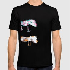 Poor Dogs Mens Fitted Tee Black SMALL
